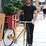 When he made you feel weird for getting ridiculously jealous of a yellow bicycle.