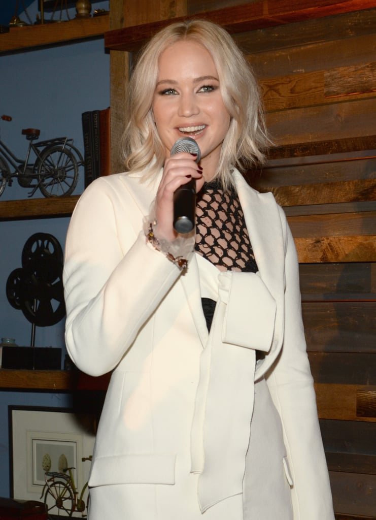 Jennifer Lawrence Was All About Women's Empowerment at a Pre-Oscars Bash