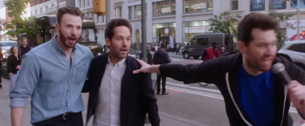Paul Rudd Crashes Chris Evans's Billy on the Street Episode