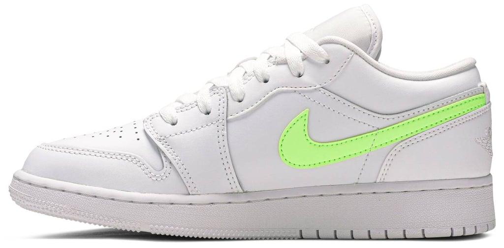 Jennifer's Exact Nike Air Jordan 1s Low GS White Neon