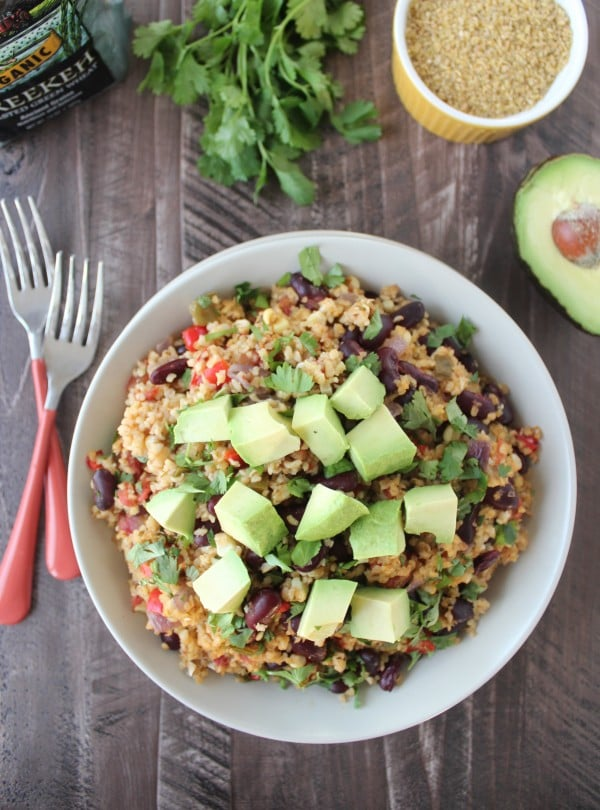 One pot vegan mexican freekeh fast and easy mexican recipes one pot vegan mexican freekeh forumfinder Images