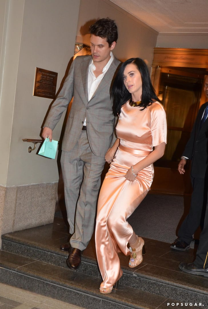 Back On? Katy Perry and John Mayer Hold Hands