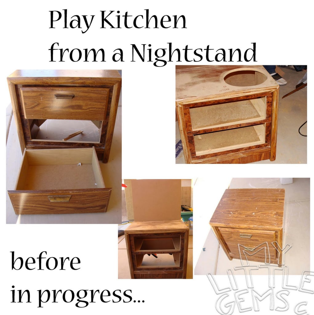 The Before: A Nightstand
