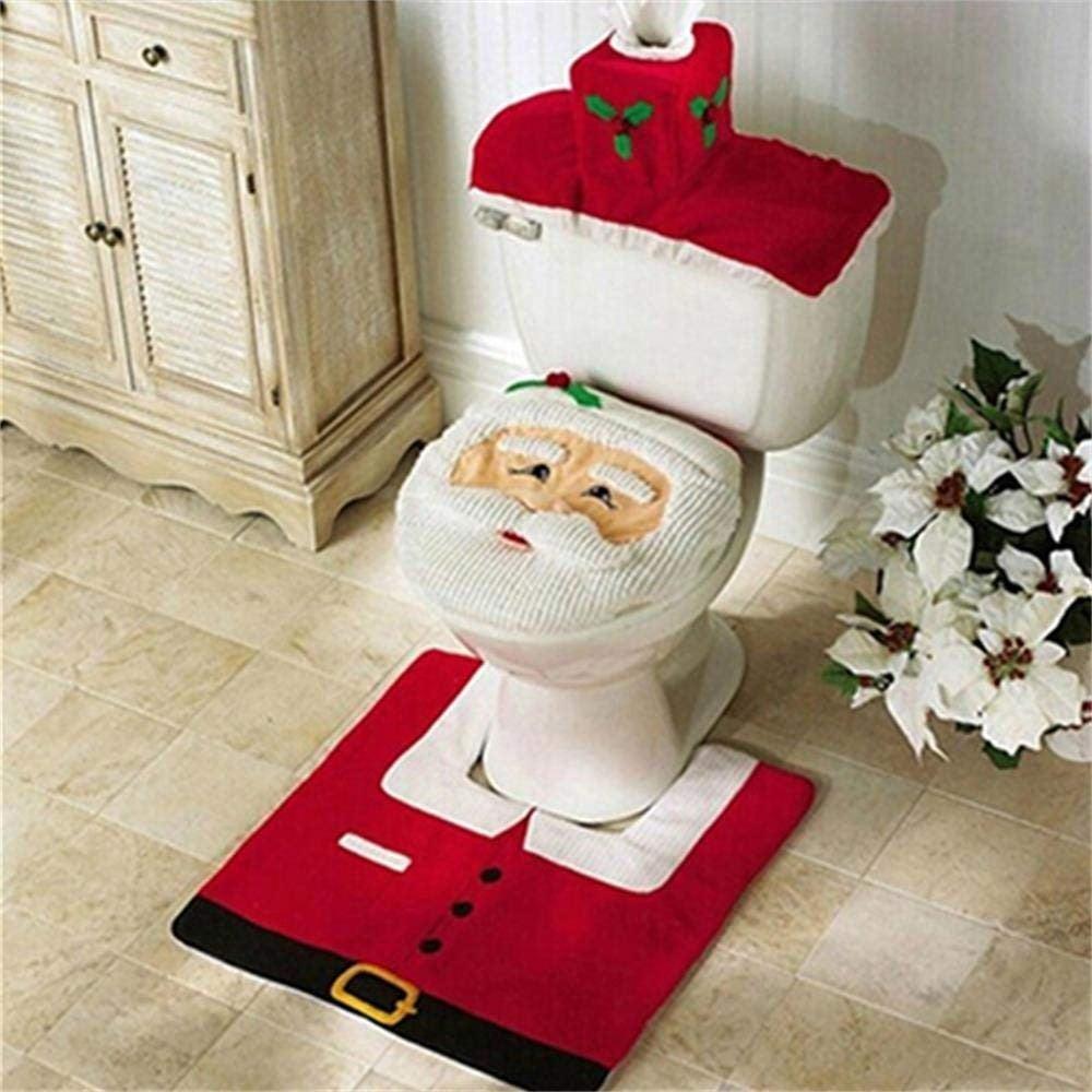 Santa Toilet Bowl Lids