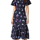 Rebecca Taylor Off Shoulder Bell Flower Dress ($495)