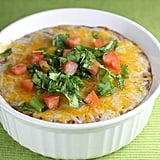 Cheesy Refried Bean Casserole