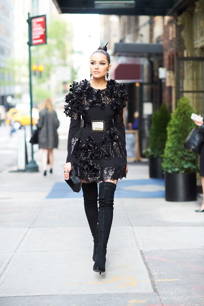 When Olivia Culpo Stylishly Made Her Way to the Met Gala