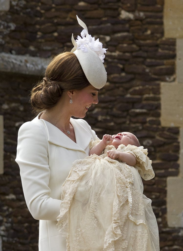 History Behind Prince Louiss Christening Gown Popsugar Family