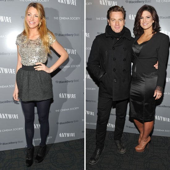 Blake Lively Shows Her Soderbergh Support at the Haywire Premiere