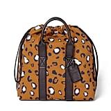 3.1 Phillip Lim Leopard Print Drawstring Carryall Bag