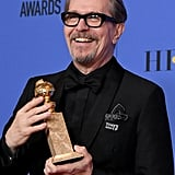 Gary Oldman and Family at the Golden Globes 2018