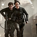 Katniss and Gale head into battle.