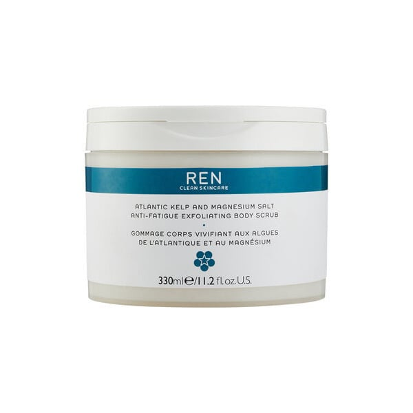 Ren Atlantic Kelp and Magnesium Salt Anti-Fatigue Exfoliating Body Scrub, $45