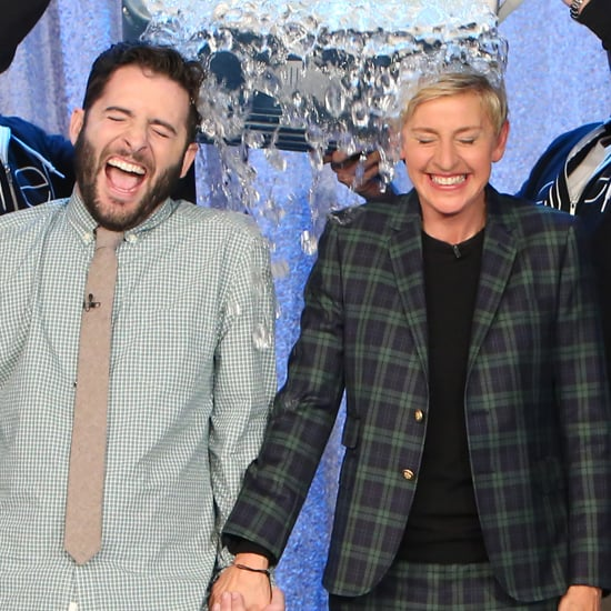 Ellen DeGeneres Ice Bucket Challenge With Anthony Carbajal