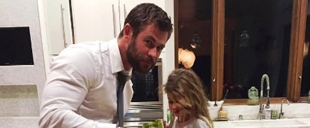 Chris Hemsworth's Pictures With His Kids