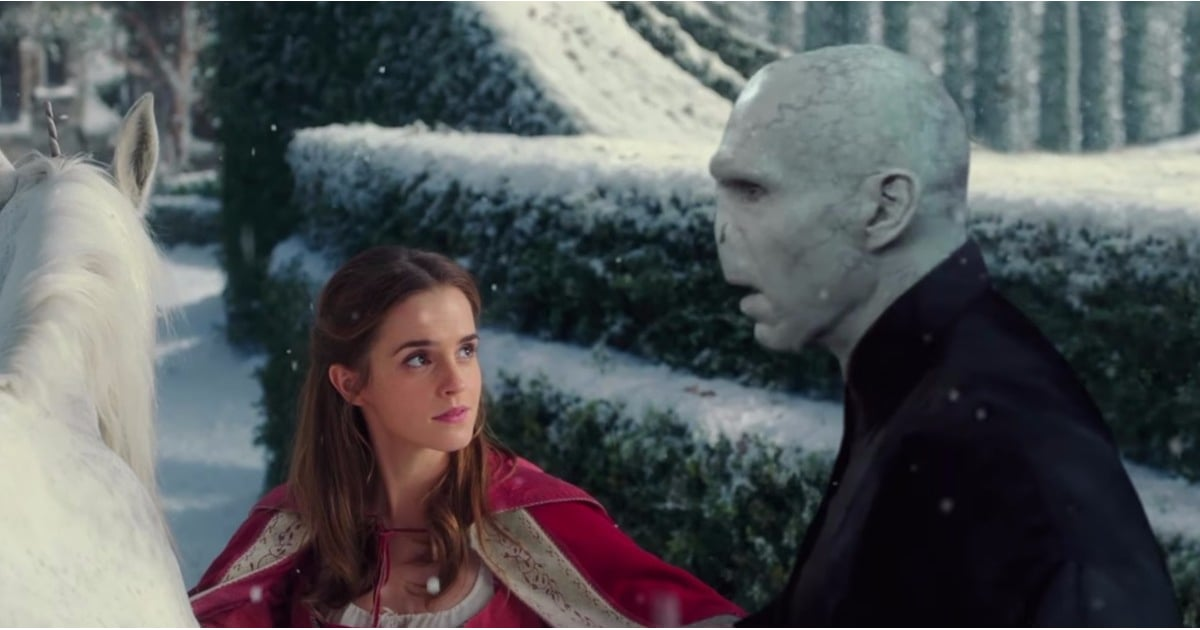 Princess Belle and Voldemort Fall in Love in This Terrifying (and Hilarious) Fairy Tale Remake