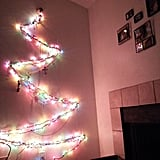 The story about how a husband made a Christmas tree out of lights for his wife when he couldn't afford a real one.
