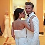 David and Victoria Beckham, 2014