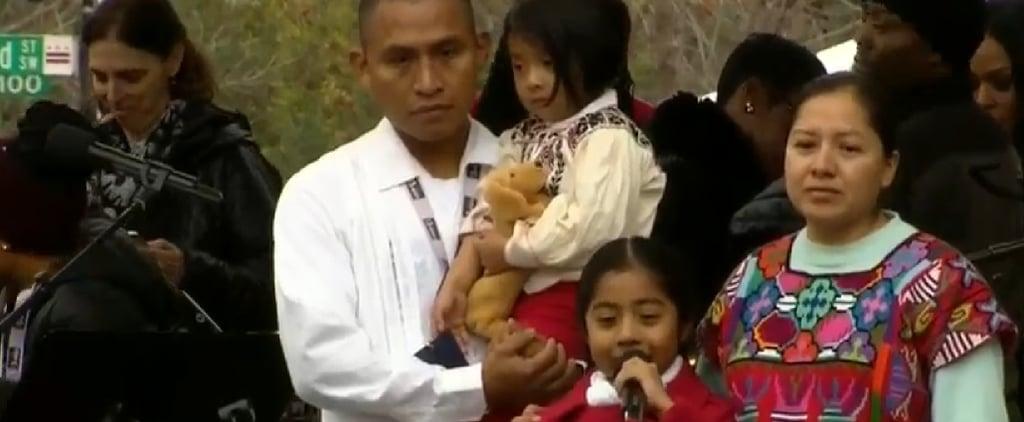 6-Year-Old Sophie Cruz's Women's March on Washington Speech