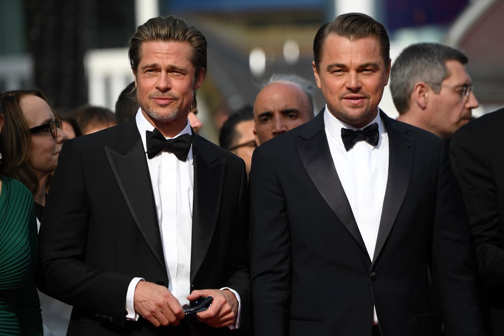"When I first heard that Leonardo DiCaprio and Brad Pitt would be popping up at this year's Cannes Film Festival, I knew I was in for a treat, but I certainly didn't expect to be swooning this hard.  On Tuesday, the actors hit the red carpet for the premiere of Once Upon a Time in Hollywood, and it's almost insulting how good they looked. Clad in matching black tuxes, Leo and Brad likely melted everyone at the festival into puddles as they flashed their sexy smiles and posed for pictures with the rest of the cast, including Margot Robbie and director Quentin Tarantino.  The glamorous outing marks Brad's first time at the festival since 2012 — wow, how has it been so long? Leo, on the other hand, was recently spotted being the ultimate Instagram boyfriend for girlfriend Camila Morrone over the weekend.  Once Upon a Time in Hollywood is described as ""a unique take on Manson Family Murders."" ""It takes place at the height of the counter-culture explosion, at the height of the hippie revolution, and at the height of a new Hollywood,"" Quentin explained at CinemaCon in 2018. ""During this Summer, we will, little by little, street by street, block by block, transform Los Angeles into the psychedelic era of Hollywood in 1969.""  The film is set to hit theaters this July."