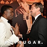 Pictured: Leonardo DiCaprio and Chris Rock