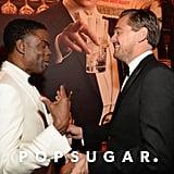 Pictured: Leonardo DiCaprio and Chris Rock