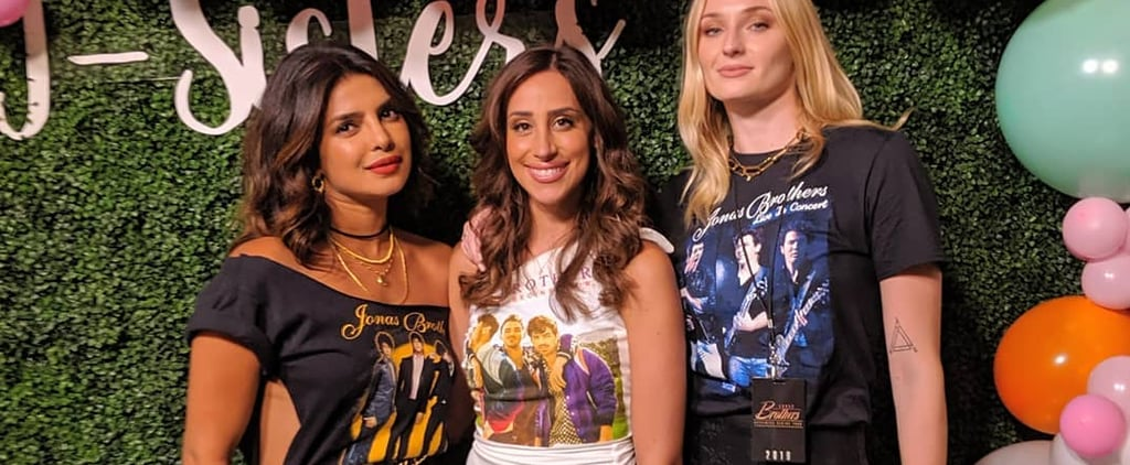 Priyanka Chopra's Jonas Brothers T-Shirt August 2019