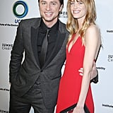 Zach Braff and Taylor Bagley