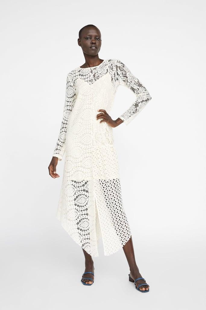 a51abde9de22 Zara Lace Dress