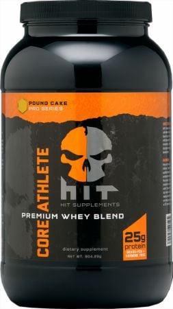 HIT Supplements Core Athlete Pumpkin Spice Protein Powder