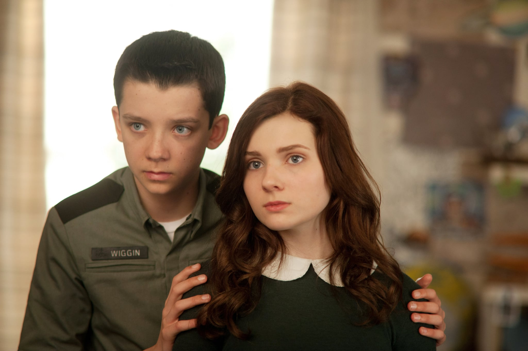 ENDER'S GAME, from left: Asa Butterfield, Abigail Breslin, 2013. ph: Richard Foreman/Summit Entertainment/courtesy Everett Collection