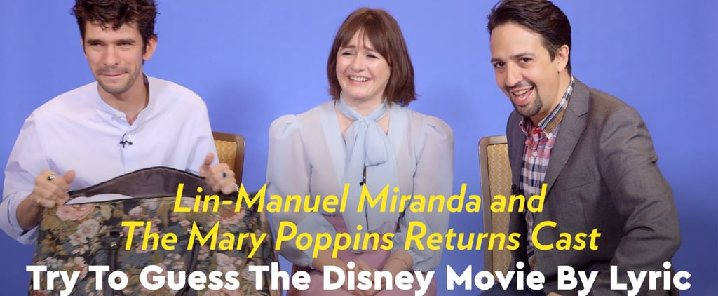 Lin-Manuel Miranda Mary Poppins Returns Interview