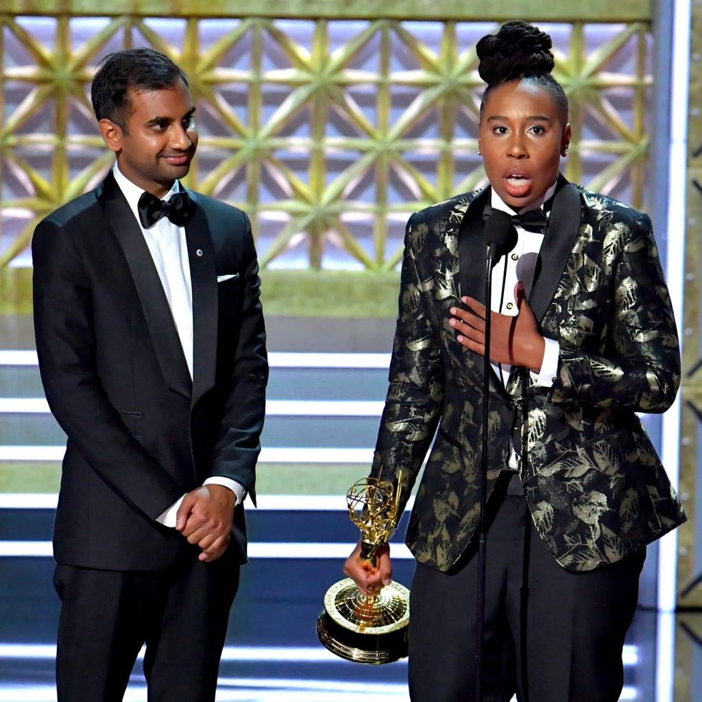 Reactions to Aziz Ansari and Lena Waithe at 2017 Emmys