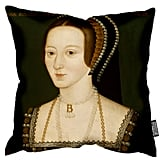 Anne Boleyn portrait cushion ($50)