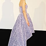 Marion Cotillard in Purple Dior Dress