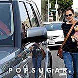 Jennifer Garner and Seraphina Affleck Do Breakfast Then Karate