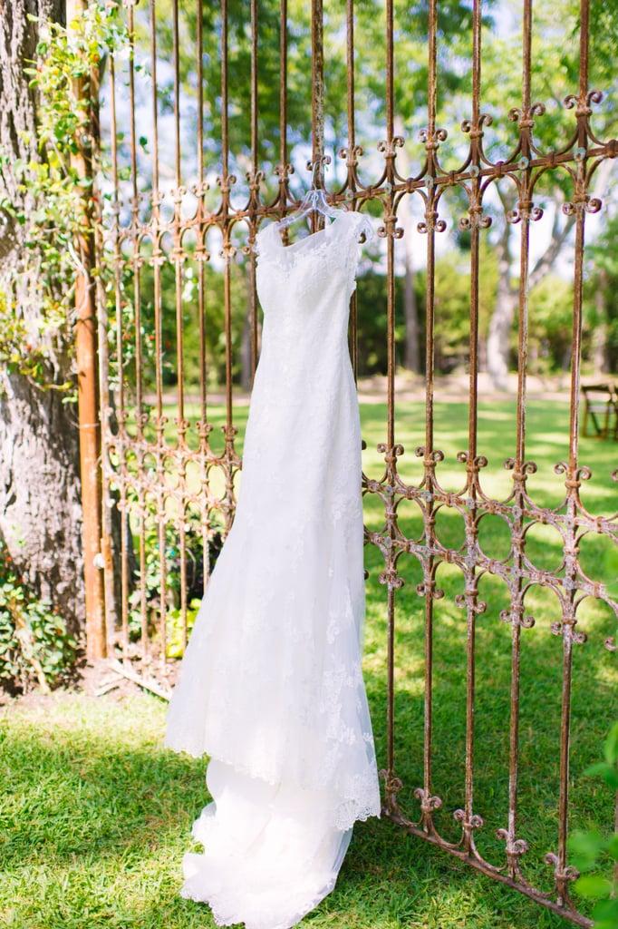 Wrought Iron Fence Vintage Americana Wedding Decor Popsugar Home