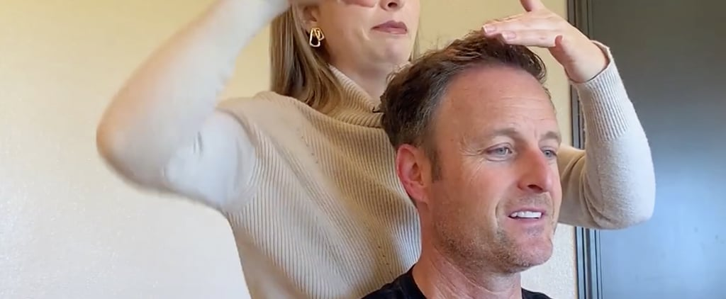 Chris Appleton Helps Chris Harrison Cut His Hair at Home