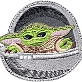 Baby Yoda Pod Force Mandalorian Inspired Art Patch
