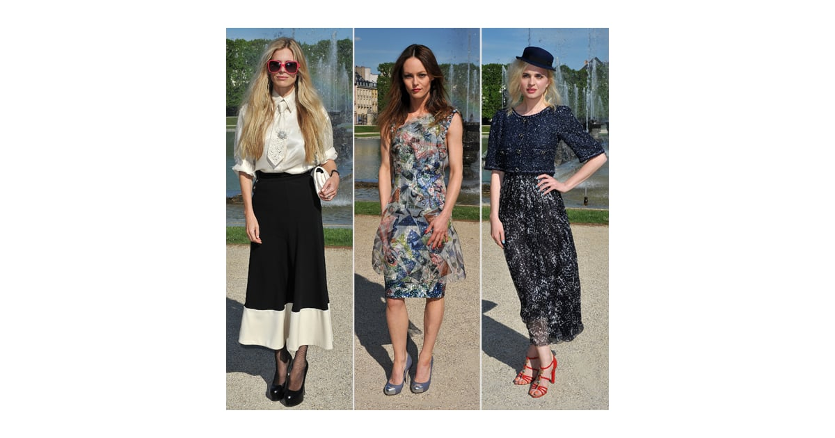Chanel's Cruise Collection 2013 Front Row Crowd Pictures ...