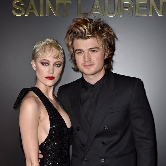 Joe Keery Debuts Blond Highlights February 2020