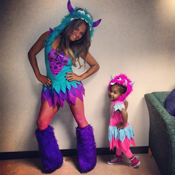 Christina Milian and her daughter, Violet, showed off their Halloween costumes. Source: Instagram user christinamilian