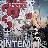 Gwyneth Paltrow at Printemps Christmas Window Opening