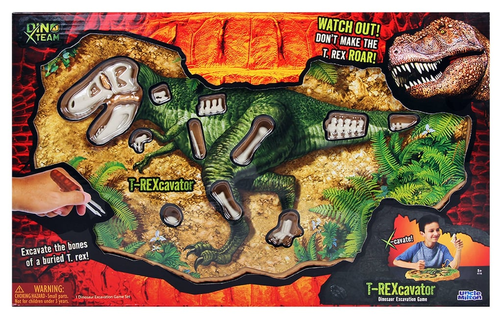 For 6-Year-Olds: Jurassic World T. Rex Bone Extractor