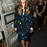 Jessica Biel arrived at the Variety party in Beverly Hills.