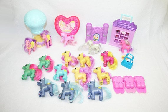 My Little Pony Toy Food : My little pony vintage happy meal toys popsugar food
