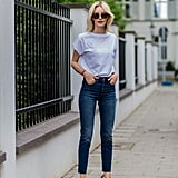 Dark Denim in a Style That Flatters Your Figure