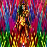 The Psychedelic New Teaser Poster For Wonder Woman 1984 Unveils Diana's New Costume