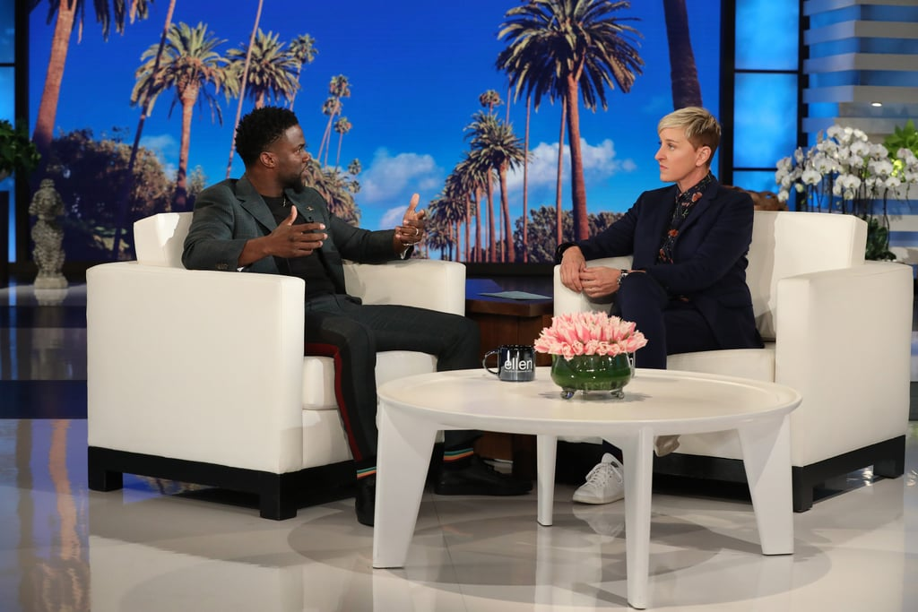 Kevin Hart Talking About Hosting Oscars on Ellen Video