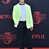 Gaten Matarazzo at Stranger Things Season 3 Premiere